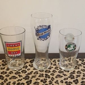 NWOT NY themed brewery pint & pilsner glas…